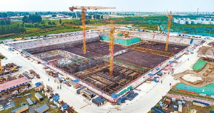雄安首座全地下再生水厂全面开建!污水处理设施全藏进生态公园