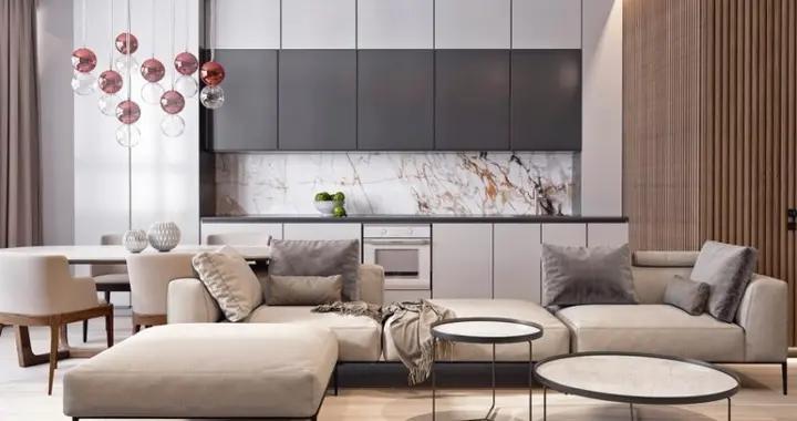110平米的现代风格,原来三居室还可以这样装修
