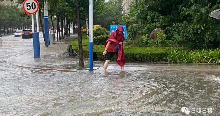 山东临沂、日照市普降大暴雨,沂沭河发生洪水