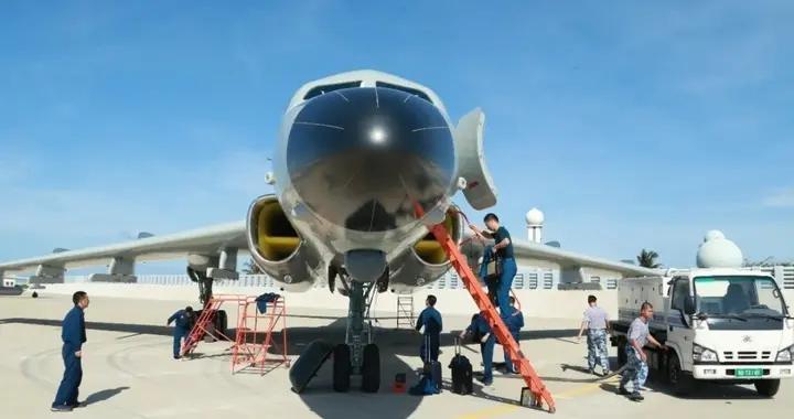 关键时刻,轰-6J轰炸机进驻永兴岛,释放保卫南海明确信号