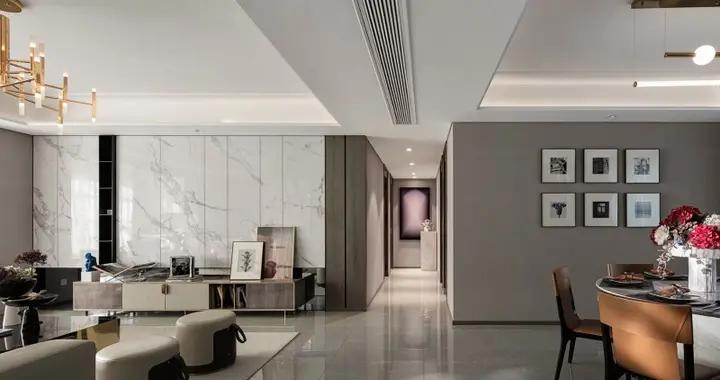 127平米的三居室,运用现代的装修风格效果是怎样的?