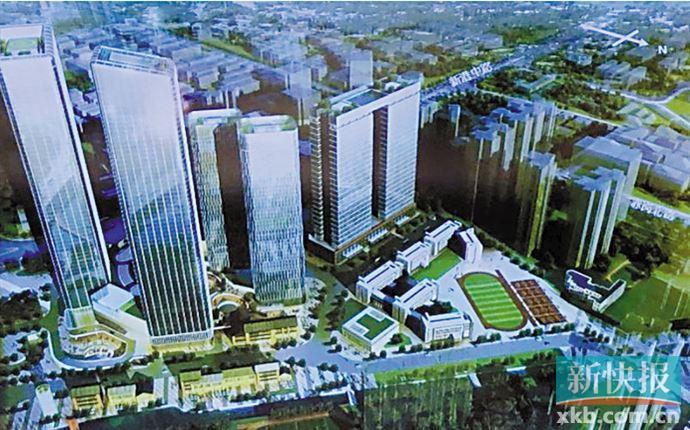 """广州塔南将建""""酒店+办公""""商业综合体"""