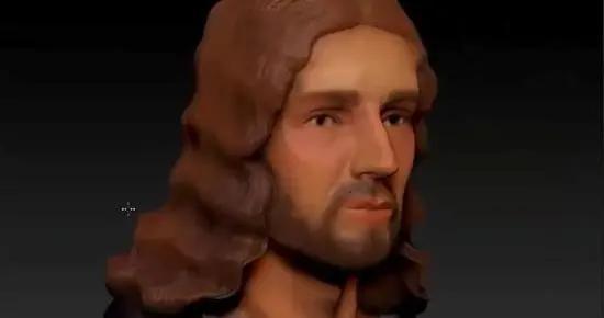 拉斐尔自画像美化自己的鼻子 3D技术还原真实样貌