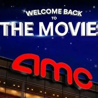 【票·资讯】美国最大院线AMC下周重开,首日票价仅1元人民币