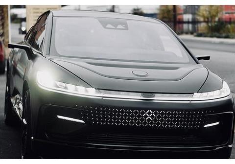 法拉第未来FF91,曾号称36小时订出6.4万台,如今原型车被拍卖