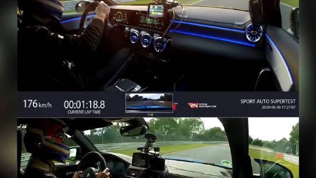 """做了个车载记录同框对比 可以看看差异 """"绿色地狱""""纽北 圈速媒体"""