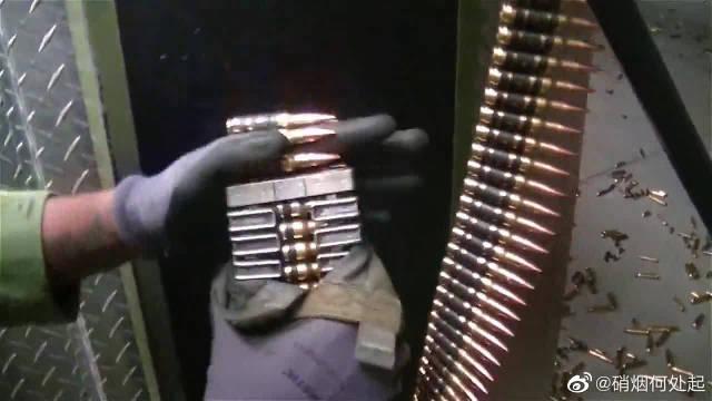 多管加特林机枪,室内靶场射击测试,射速快威力强,可靠性高……
