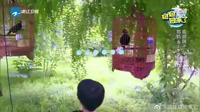 郑钧带jagger逛园子,学老北京的传统手艺,做冰糖葫芦捏糖人!