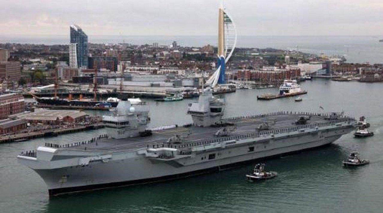 要退出五常行列?英国掏空国库造航母却漏水,新舰战力不如054A