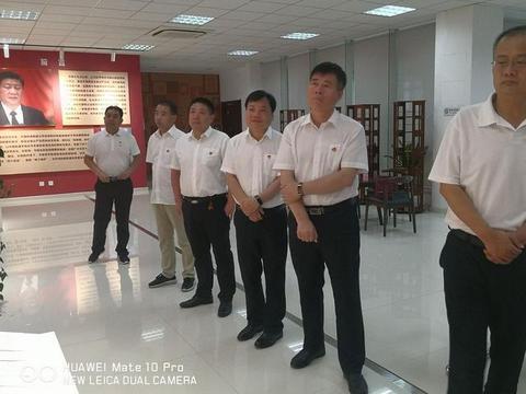 """乾县、礼泉供电分公司""""做客""""中国联通陕西分公司廉洁教育基地"""