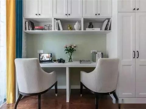晒晒这个轻奢时尚的美式三居室,设计的好,收纳空间可以扩大3倍
