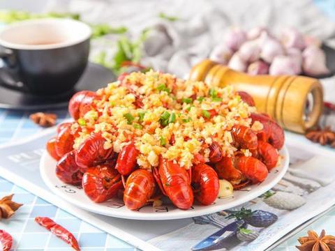 分享一下巨好吃的小龙虾,香辣爽口
