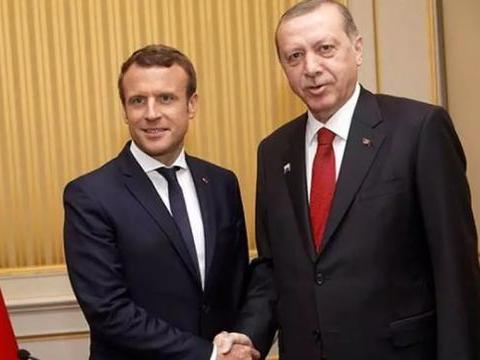 觊觎地中海油气,土耳其越来越嚣张,法国再也看不下去了