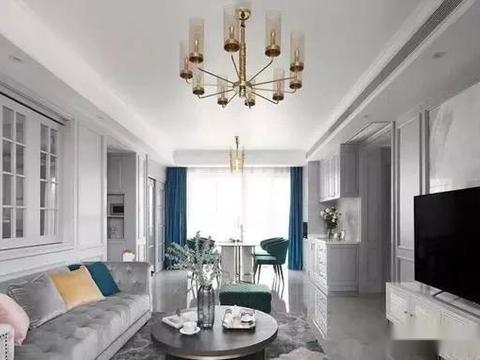 时尚灰+墨绿色,打造出现代轻奢美感之家,漂亮,有档次