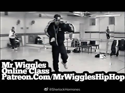 珍贵历史资料:街舞圈传奇男神Mr.Wiggles