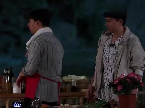 向往2:黄磊为迎接张杰,做川菜水煮肉片,杰仔在旁边狂流口水!