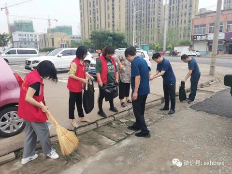寿光市生态环境分局组织干部职工开展文明城市复审迎测集中行动