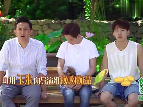 向往1:黄磊:我想吃烧鸡!导演:600根玉米!黄磊:你这是黑店吧