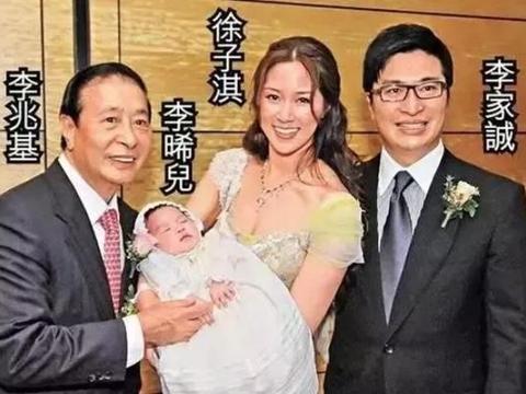 徐子淇嫁李兆基小儿子2胎都生女孩,哥哥李家杰放大招一胎3儿子