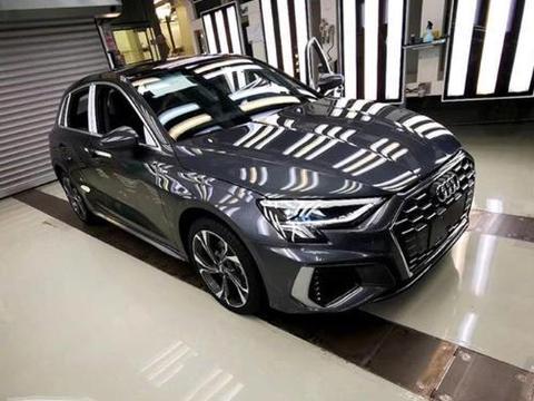 国产全新奥迪A3实车照 有望北京车展首发