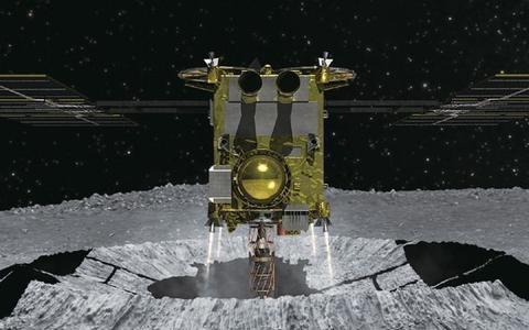 每秒300米速度撞击小行星后表面瞬间变暗,40亿年前的东西露出
