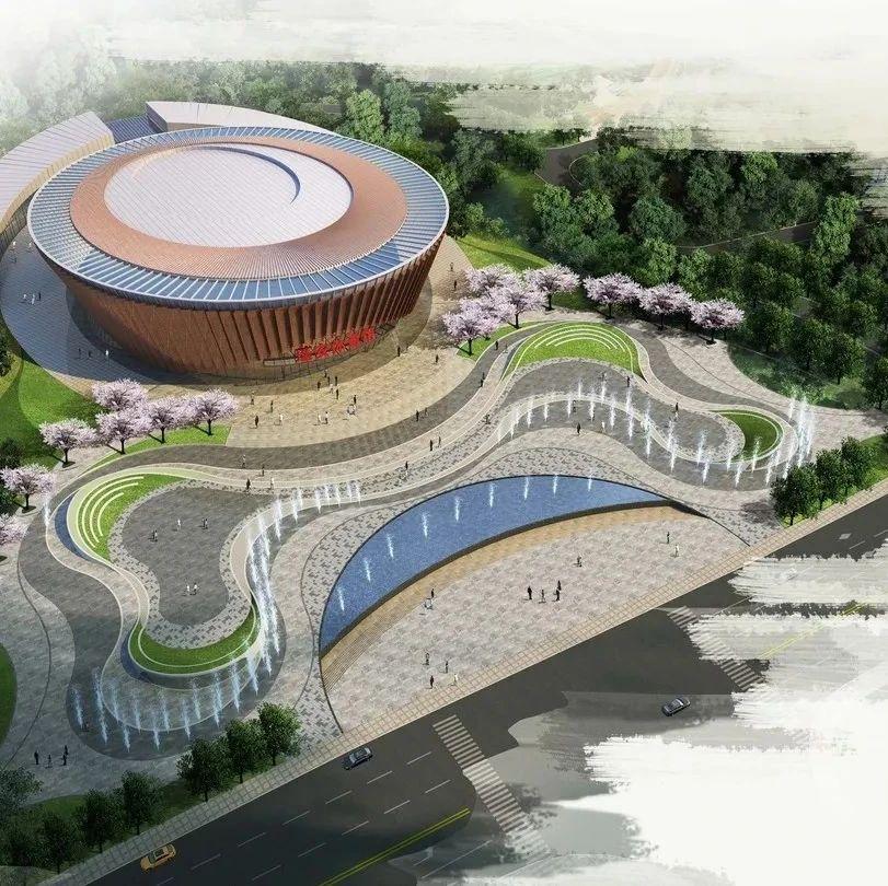 南充这座体育中心设计图首次曝光,多张高清大图带你先睹为快