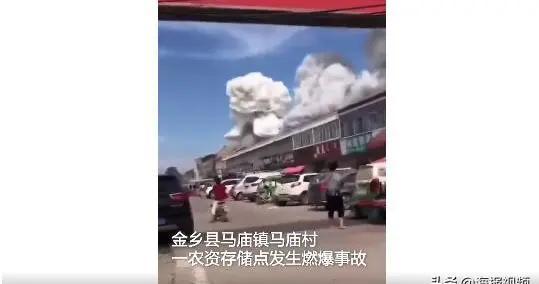 济宁一仓库爆炸致2人死亡 系村民伐树引起电线起火导致