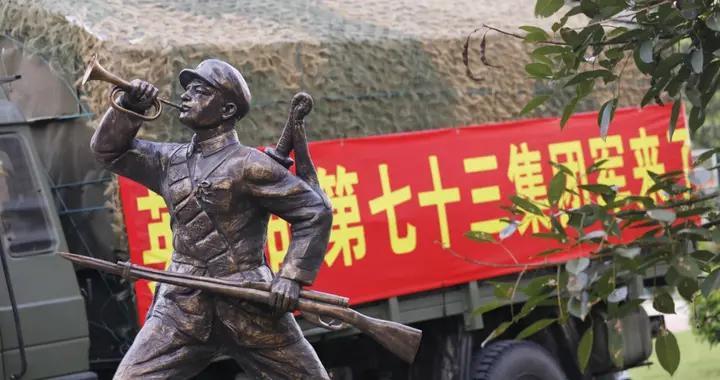 """22年后,""""抗洪抢险英雄营""""再战九江"""