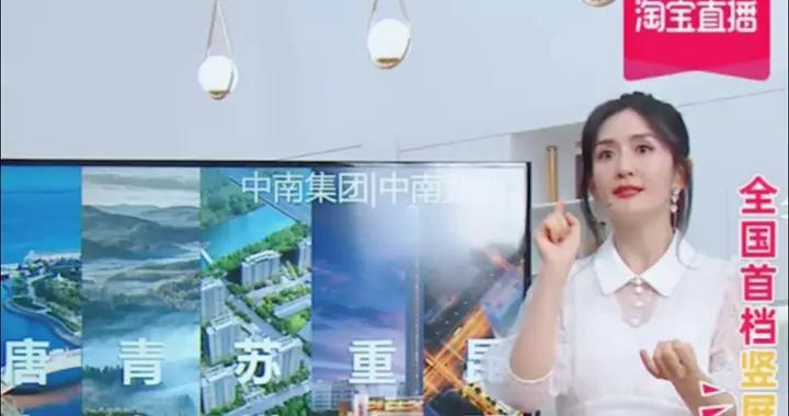 谢娜直播首秀GMV预估破亿,20分钟为中南置地卖出72套房
