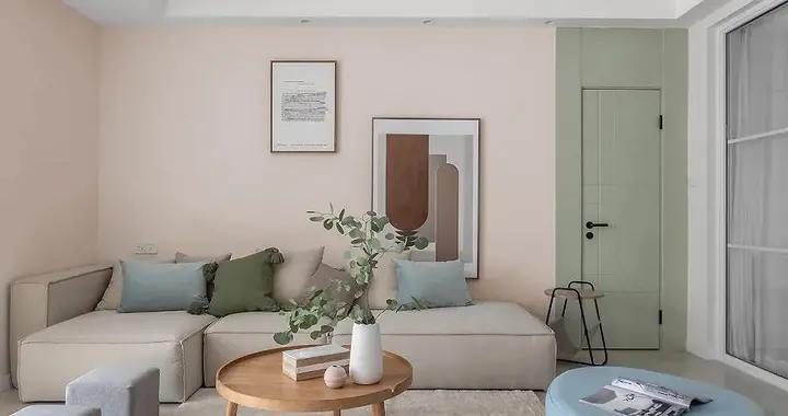 北欧风格的132平米的三居室装修成这样,亲朋好友都艳羡