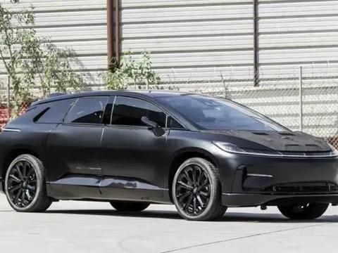 """贾跃亭的""""宝贝"""",两辆法拉第未来FF91原型车被拍卖"""