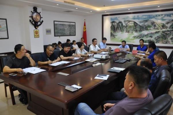 河南省洛宁县委员会指导去县环保局调查