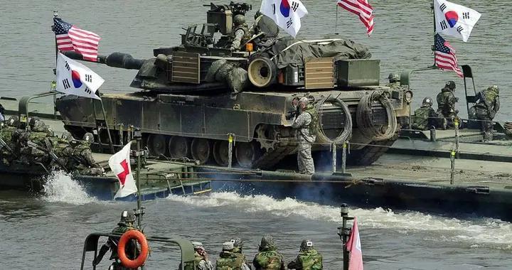 美韩联合军事演习规模不断缩水,日期也将要推迟