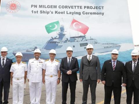 土耳其给巴铁造护卫舰,帮印度搞补给舰合同,到底凭啥两头通吃?