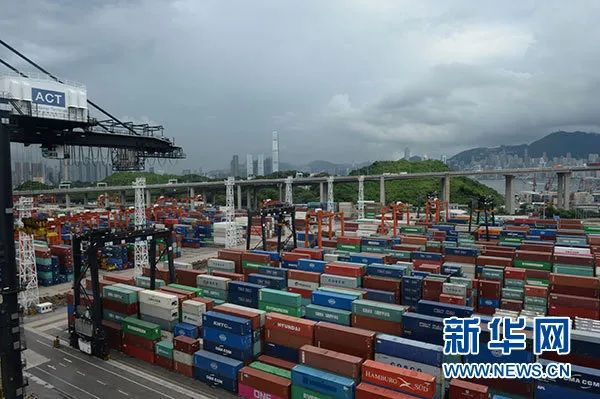 香港葵涌货柜码头(资料图/新华社)