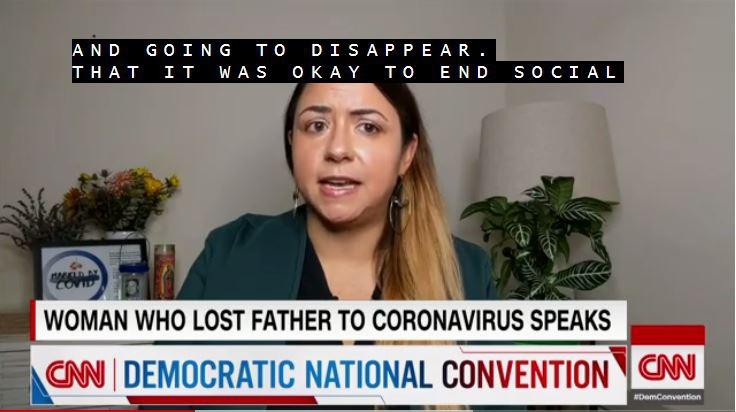 美国女子现身民主党大会:因为信特朗普 我父亲死了
