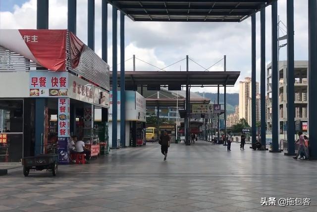 东莞樟木头汽车站 现在乘客越来越少 一些汽车站