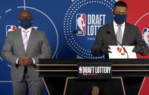 NBA乐透抽签仪式结束,森林狼获得状元签