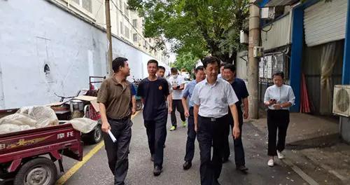潍坊青州市政协主席刘永福调度全国文明城市创建工作