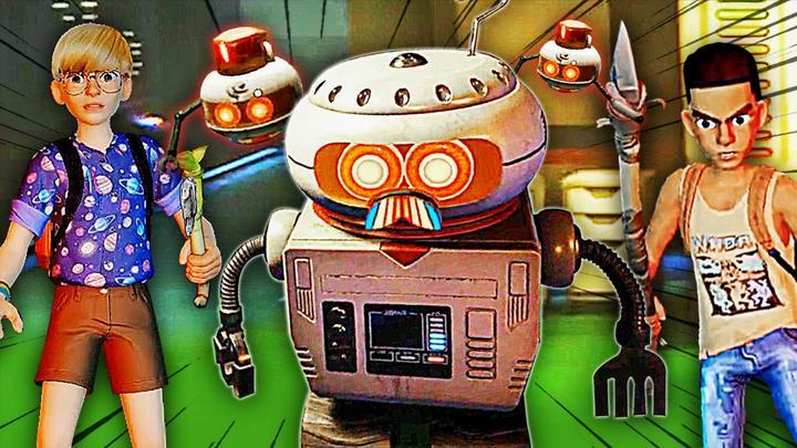 禁闭求生 秘密洞窟里面发现一台机器人,它还能说话 屌德斯阿波兔