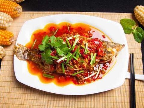 窖香糟辣鱼,香辣扇贝丁,炒田螺,蒜蓉茄子的做法