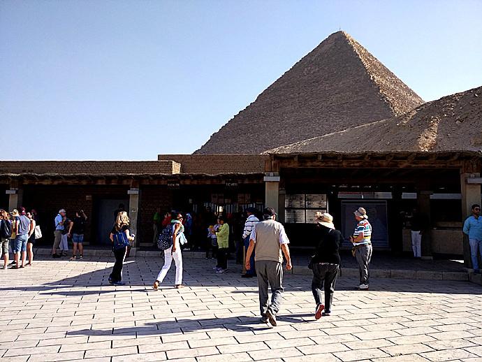 土埃之行(三十八)埃及*开罗*吉萨*胡夫金字塔