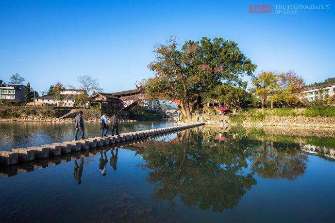 温州泰顺姐妹桥 这座52米高的桥至今仍坚