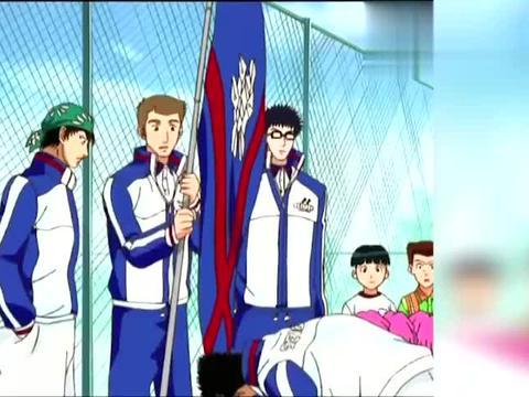 动漫:特技网球谁都会不差这一球了,大石怎么能接的到呢