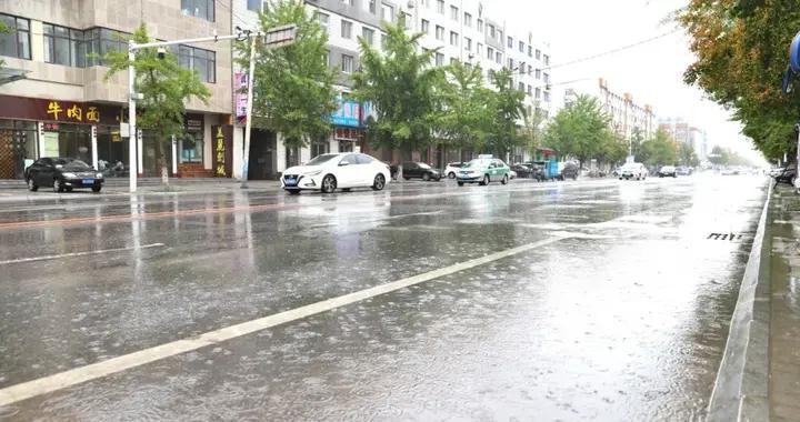 凌海市出现今年入汛以来最强降雨!最大降水量111毫米