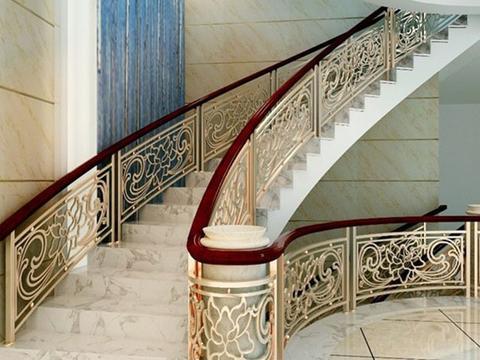 行走楼梯:楼梯台阶用大理石怎么样?大理