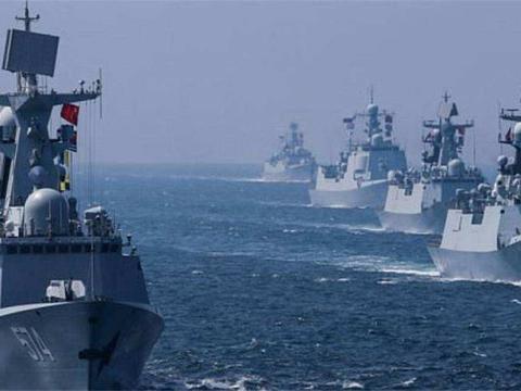 该国海军发展突飞猛进,虽赶不上美国,但只是时间问题