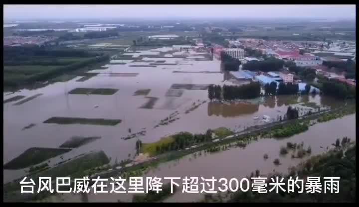 果然视频 青岛北郊桃源河下游漫堤,水位正逐步下降