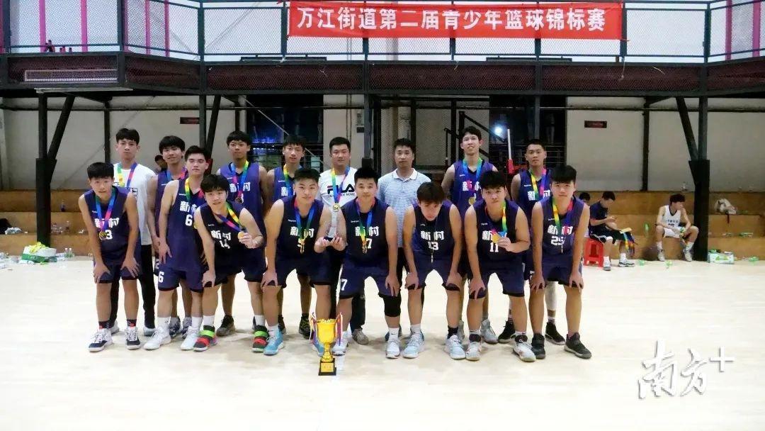 新村队夺冠!第二届万江青年篮球锦标赛圆满落