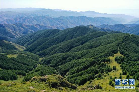 苏木山景色美